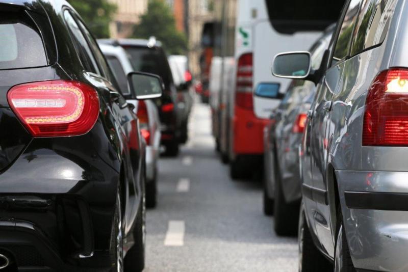 trafico en carreteras