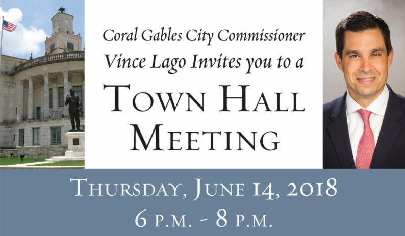 Lago Town Hall meeting