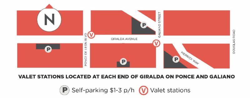 estacionamiento valet