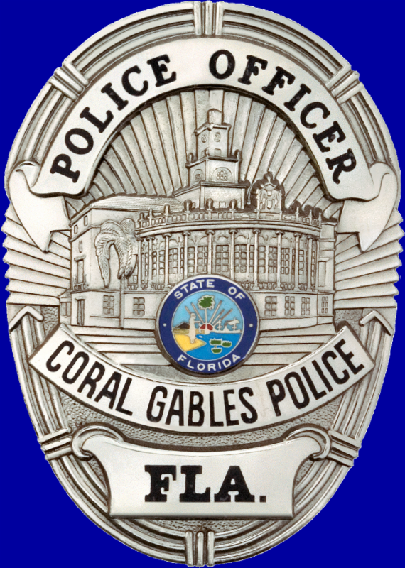 badge de policia