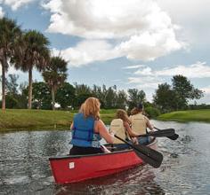 Gira por canoa