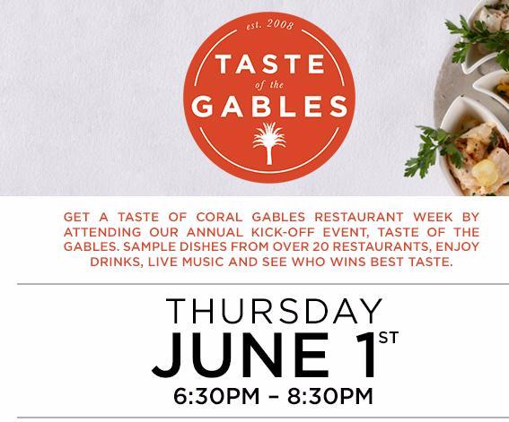 logo de taste of the gables