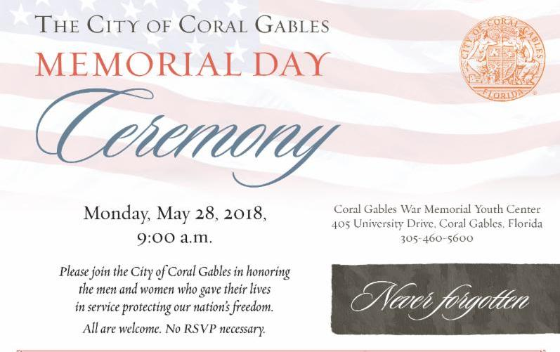 Memorial Day invitacion
