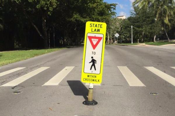 senales para peatones