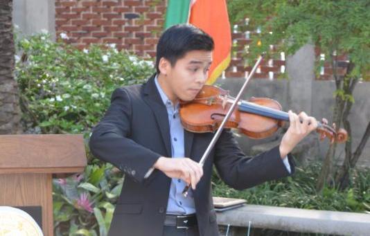 violinista Miclen LaiPang