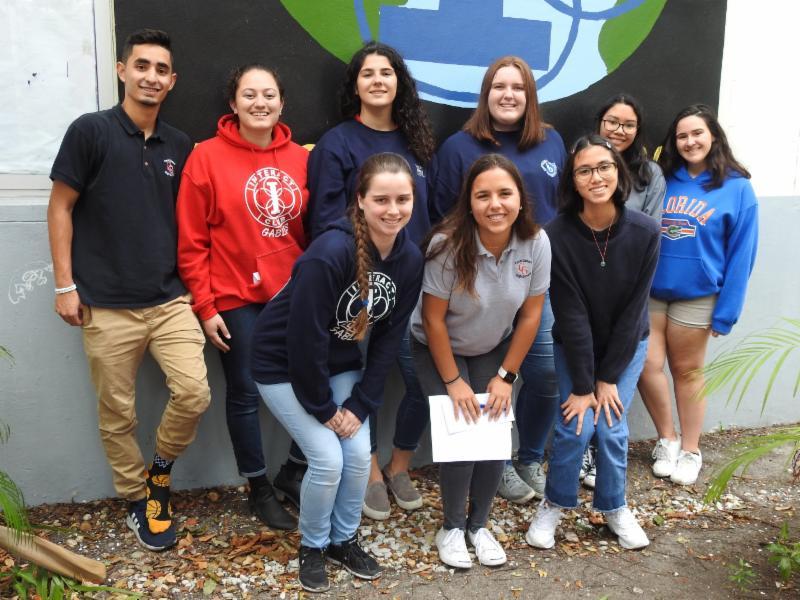 Rotary Club scholarship recipients