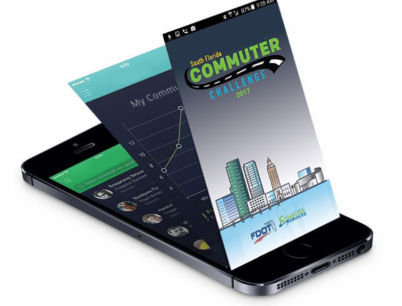 celular con app de pasajero