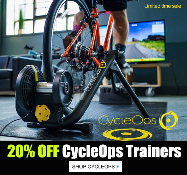 20_ off CycleOps trainer and accessories
