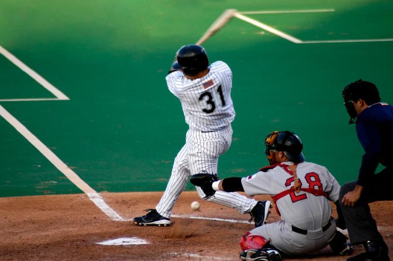 baseball strike out