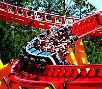 the Intimidator roller coaster