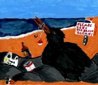 NOAA 2018 Marine Debris art contest winner