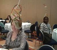 teachers at ASEE hands on session at NSTA in Baltimore Oct. 2017