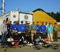 Texas A_M hurricane drone research team