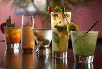 Photo of drinks courtesy Fireworks Restaurant