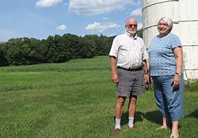 Photo of farmers Ernie and Susan Vose by Stacy Gambrel