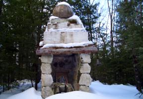 Photo of a shrine by Anne McBride