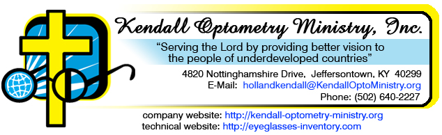 Kendall Optometry Ministry, Inc