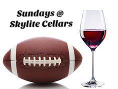 Sunday Football In Woodinville Skylite Cellars