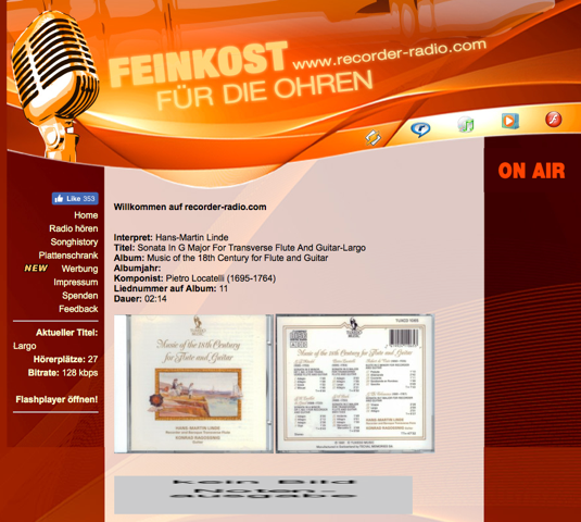 Recorder Radio Screenshot