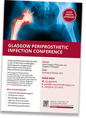 Glasgow Periprosthetic Infection Conference program
