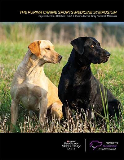 Purina Canine Sports Medicine Symposium Proceedings cover