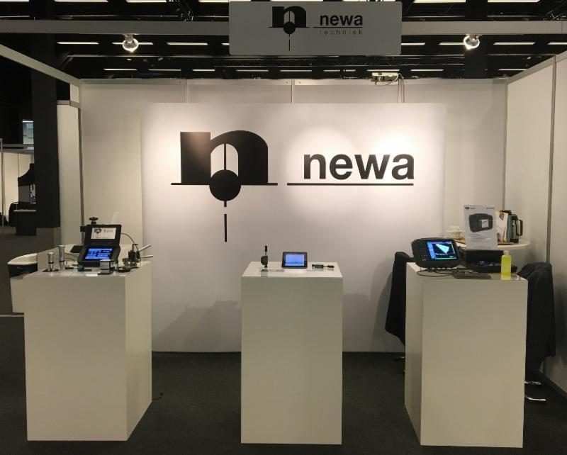 Beursstand Newa tijdens Materials 2017