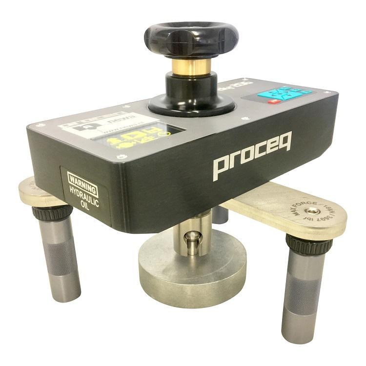 BA-2009206 - Hechtsterktemeter Proceq DY-206 - met rekplaat 100 mm