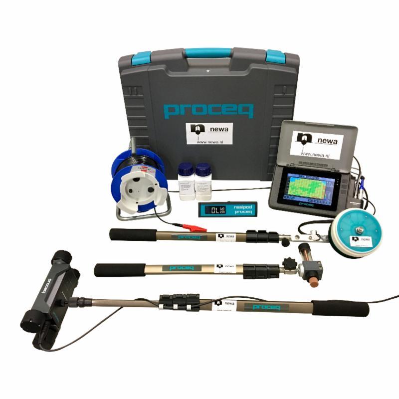 Complete Proceq Profometer 650 AI _ Proceq Profometer Corrosion _ Proceq Resipod voor Cathodic Protection Advice B.V.