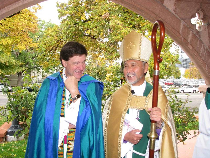 Dean Waldon and the Bishop