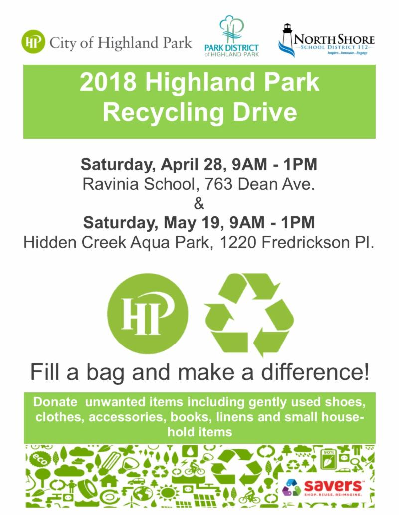 eNews: City of Highland Park