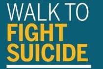 walk to fight suicide logo