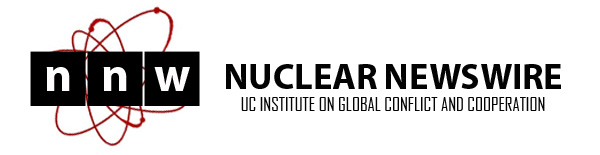 Nuclear Newswire header art