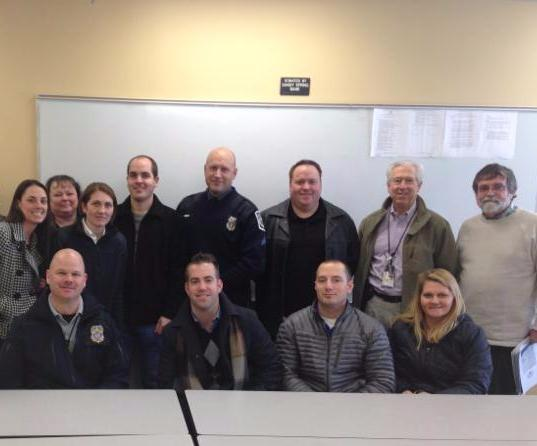 Members of Annapolis and Anne Arundel County Police Departments