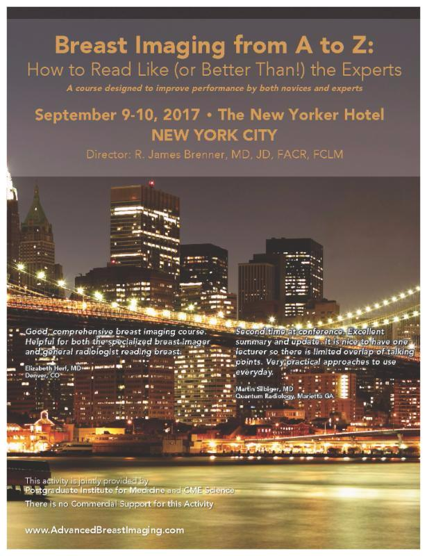 Radiology CME in New York City