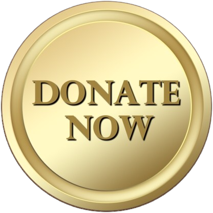 Donate Now - Gold Button Brown Background