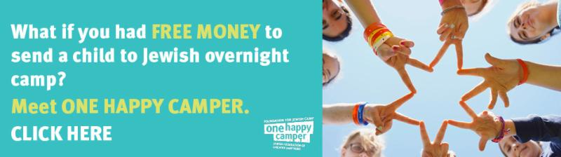 One Happy Camper scholarship ad