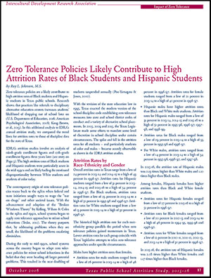 Zero Tolerance Article
