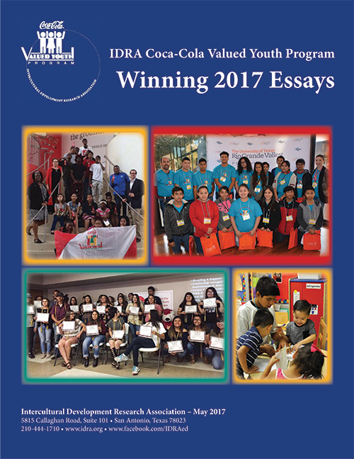 Booklet with all the winning essays