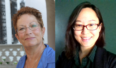 Dr Kristin Grayson and Hannah Sung_