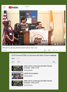Parent institute videos on YouTube