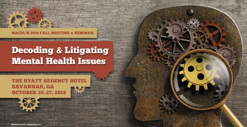 Litigating Mental Health In Criminal Cases Learn More