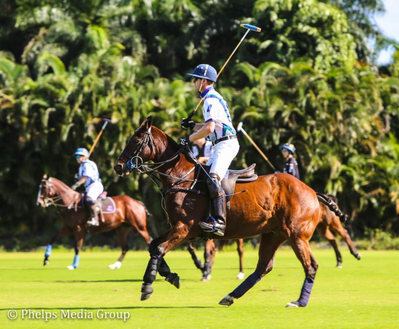 Polo Professional Jeff Blake American Equus Chosen Rider