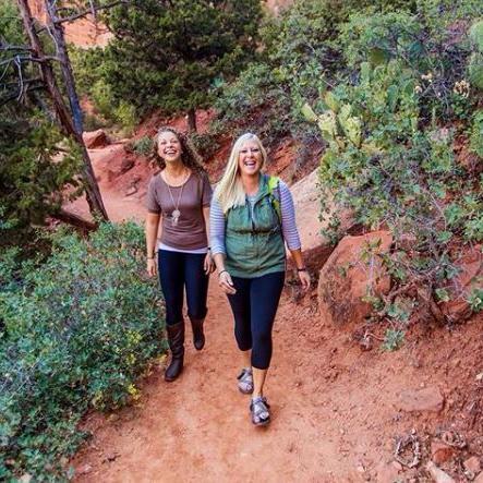 Teens Hiking