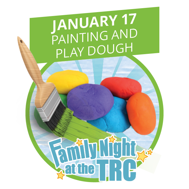 Family Night at TRC - Painting and Playdough