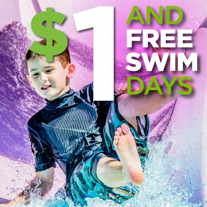 Dollar Swim Days