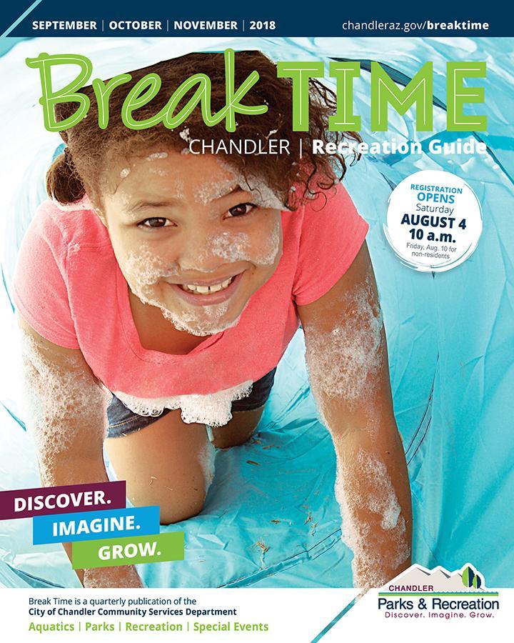 Break Time Cover Fall 2018