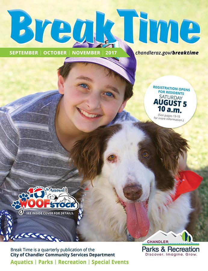 Fall 2017 Break Time Cover