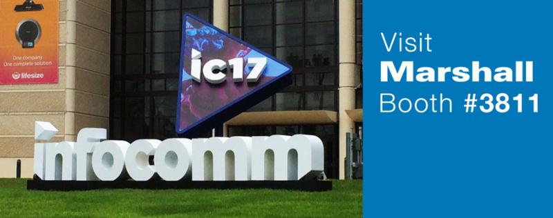 Visit Marshall at InfoComm_ Booth _3811