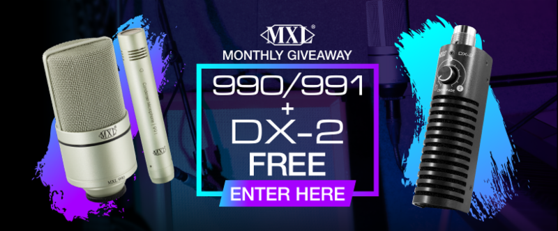 MXL_990_991___DX-2_Giveaway_Contest