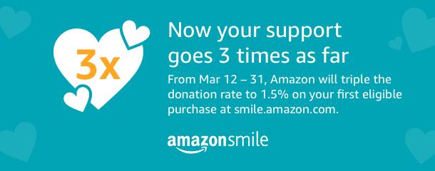 Amazon Smile 3x